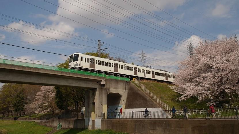 Nimaibashi_kyoryo_Seibu_Tamagawa_line_Apr_2014